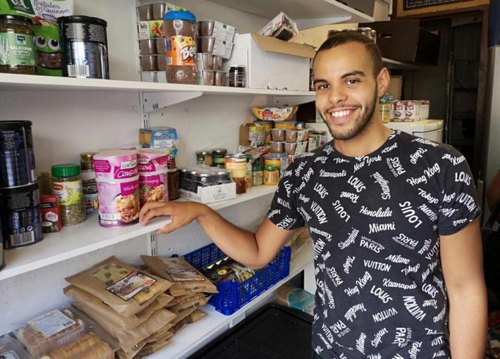 Driss Farah a créé So'ali, une épicerie solidaire