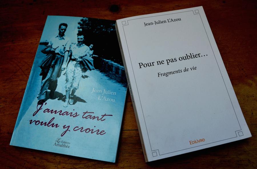 Deux romans «Pour ne pas oublier... Fragments de vie» A Rennes, en Bretagne... mai 2017, et «J'aurais tant voulu y croire», un voyage entre Bruxelles et Cuba 4° trimestre 2017