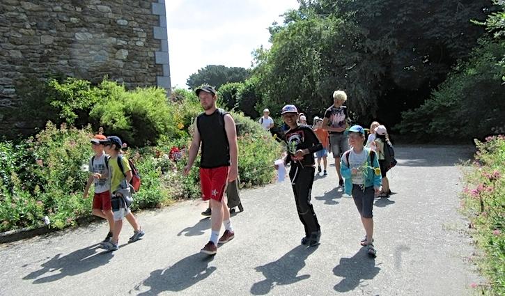 Le camp d'été permet de découvrir des endroits différents