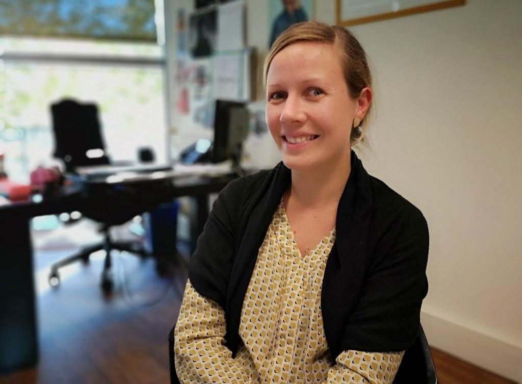 Sarah, émerveillée face à l'engagement solidaire des étudiants