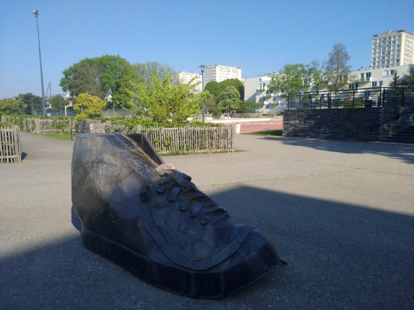 Parc du Berry,  21 avril, matin