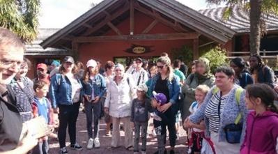 Deux bus ont été nécessaires pour le zoo de Champrépus  (Manche)