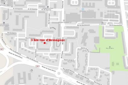 L'accueil est assuré au 3bis rue d'Armagnac