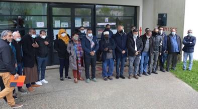 Des citoyens, des élus et des représentants des mosquées de Rennes ont apporté leur soutien