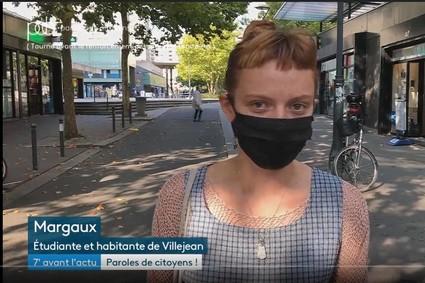 France 3 donne la parole à des Villejeannais