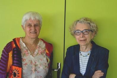Annie et Marie-Thérèse militent sur le quartier depuis les années 1970