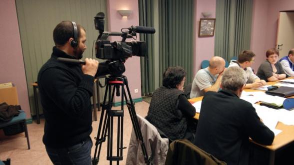 Marvin Michiélini au tournage